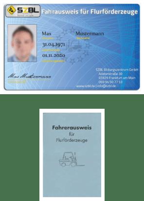 Fahrausweis für Flurförderzeuge